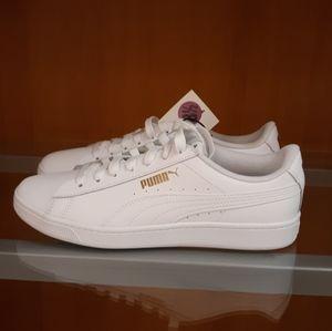 Puma Classics Leather white/ gold NWT